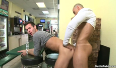 These dudes like to shag in the public places, as they are kinky and risky enough of not being shy and showing everything they got.