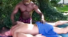 Oiled gay best blow job video