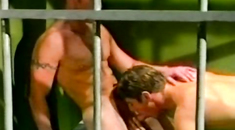 Ruthless outdoors gay sex featuring buff hunks